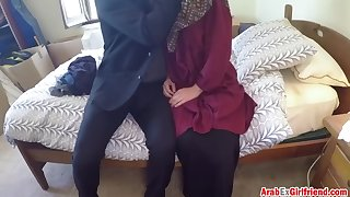 delicate arab girl with tight cunt is getting banged for easy cash
