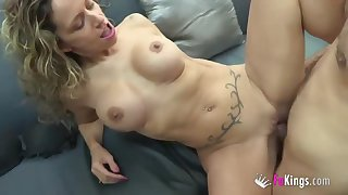 Very Busty blond hair babe banged hard - bj