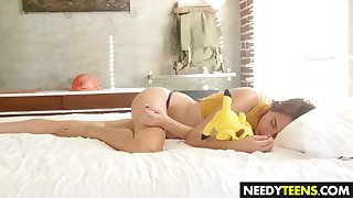 cute teen cece capella gets drilled